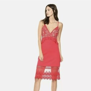 French Connection Delos Red Dress 8
